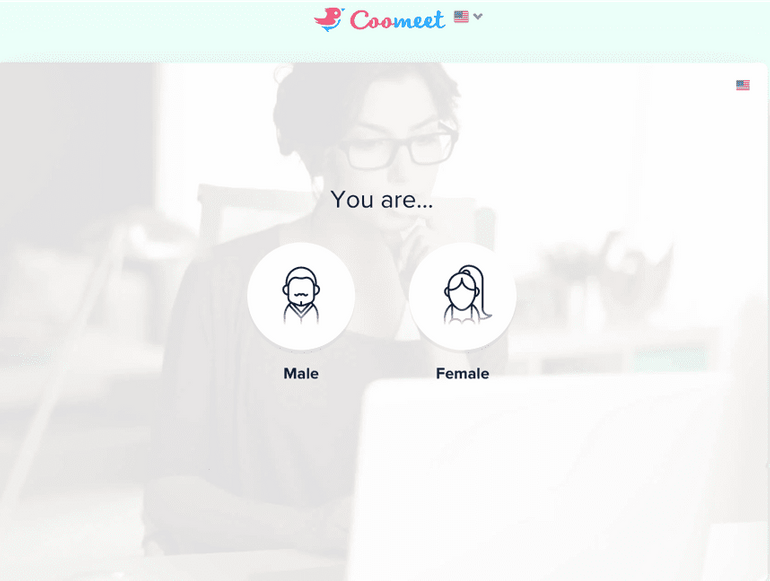 Coomeet sign up