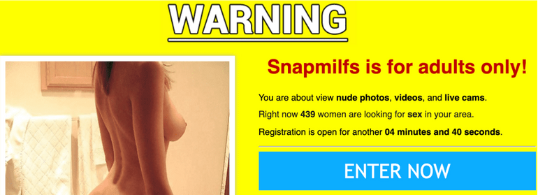 Snapmilfs website