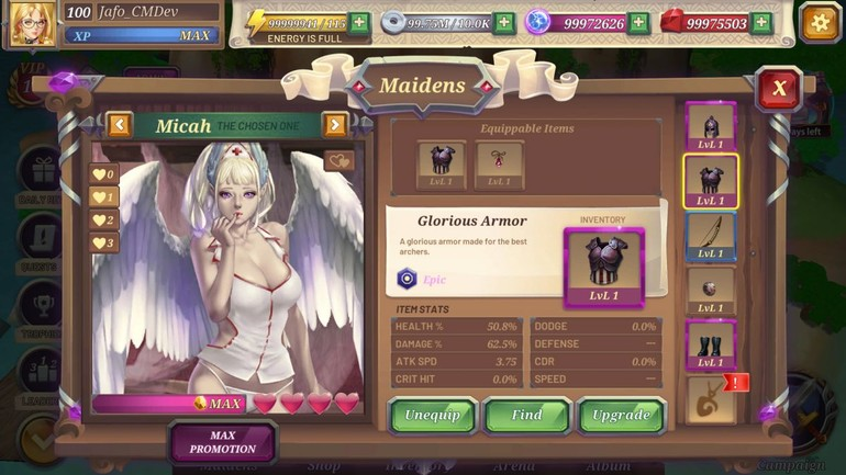 Crystal Maidens review
