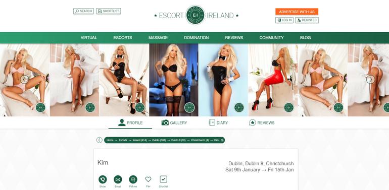 Escort-Ireland`s profiles quality