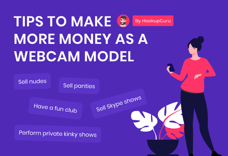make more money as a webcam model