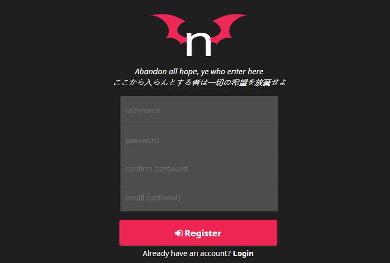 nhentai Registration