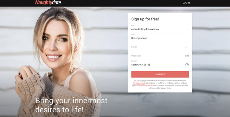 naughtydate website