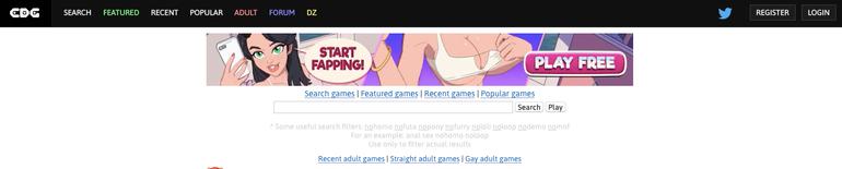 comdotgame main page