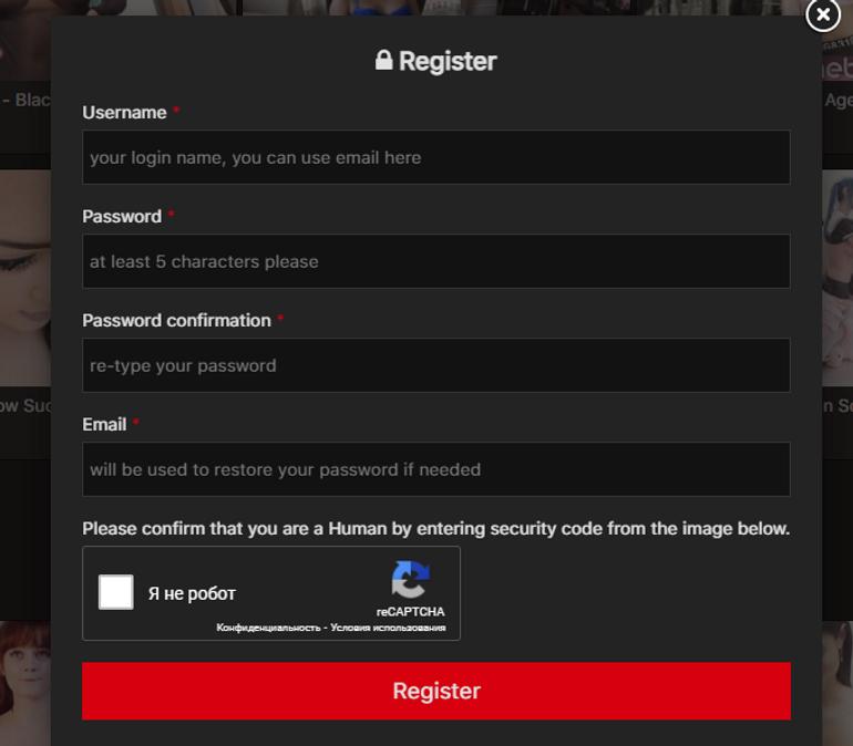 camwhoresbay Registration