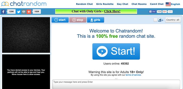 Chatrandom Design
