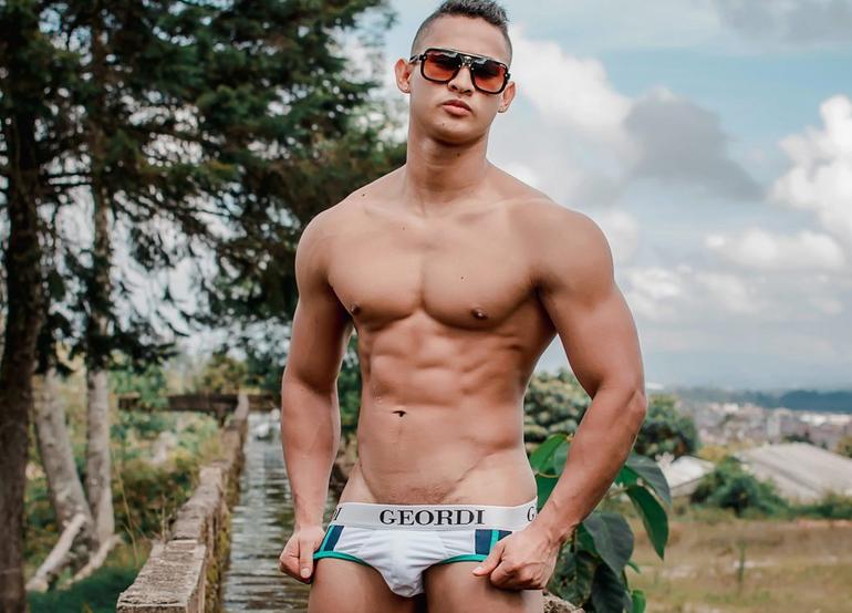 male webcam model profile