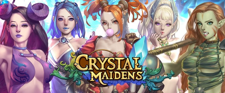 Crystal Maidens sex game