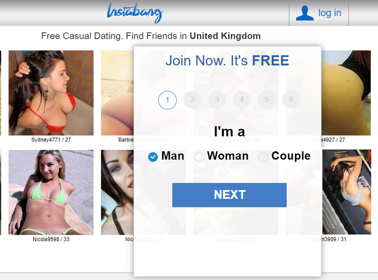 Instabang dating site
