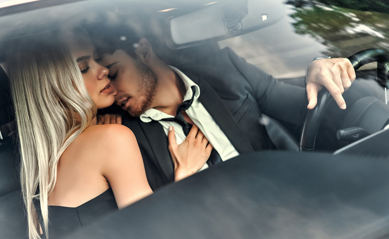 front seat car sex
