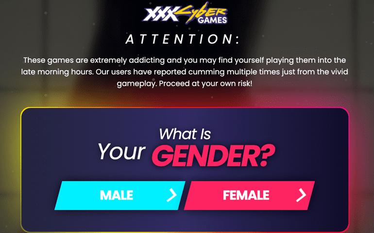 XXX Cyber Games game