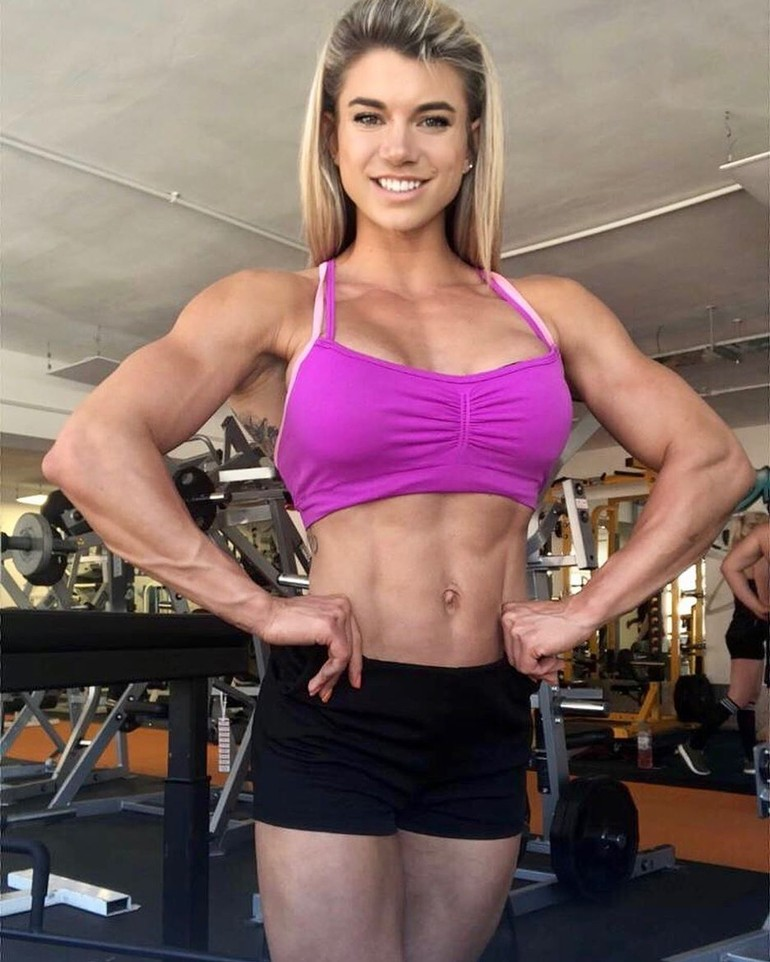 Hot fit girl