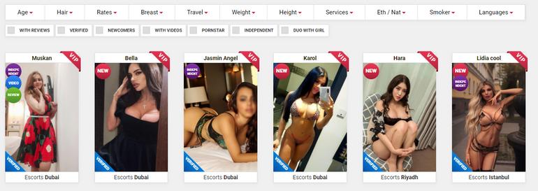 EuroGirlsEscort search